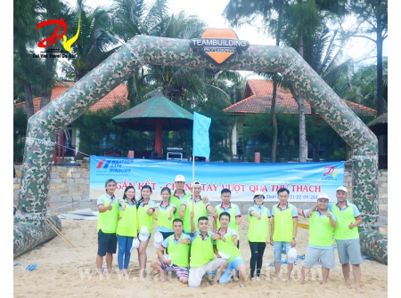 Team Building tại Resort Golden Coast